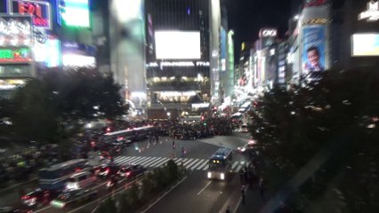 【2018/10/31】 Shibuya Halloween 2018 Scrambled Intersection 3