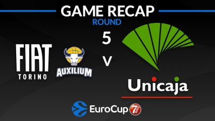 7Days EuroCup Highlights Regular Season, Round 5: Fiat Turin 104-105 Unicaja