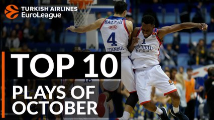 Turkish Airlines EuroLeague, Top 10 Plays of October
