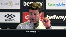 Eng Sub: 'We did well after 2 games in 48 hours' Pochettino after Spurs 3-1 West Ham