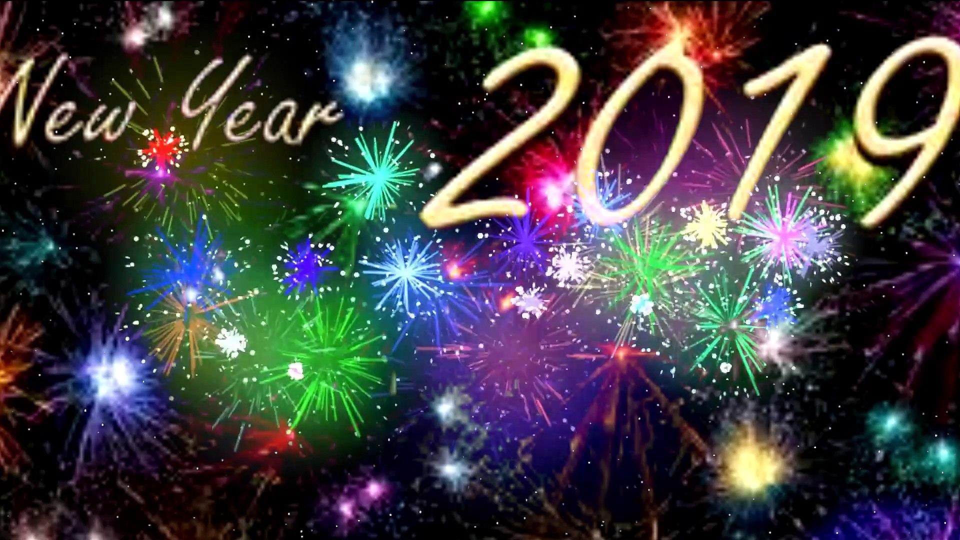 สวัสดีปีใหม่ 2562 Happy New Year 2019 - video dailymotion