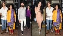 Jhanvi Kapoor, Shahid Kapoor, Mira Rajput, Neelima Azeem at Ishaan Khatter's birthday   FilmiBeat