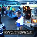 DOTr to ask LTFRB to review P10 jeepney minimum fare
