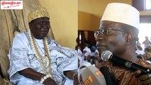 Bassam : Le roi des N'Zima reçoit le soutien de la communauté du nord,des rois et chefs traditionnels.