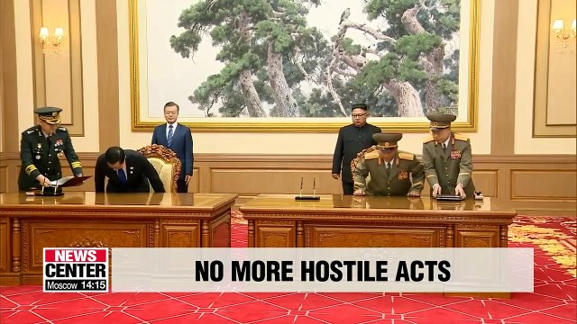 Two Koreas cease all 'hostile acts' against each other from Nov. 1st
