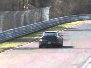 Porsche 991 coupe spy video