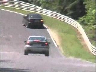 Mercedes E63 AMG scoop video