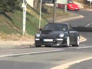 Porsche 911 GT3 RS (2009) spy video