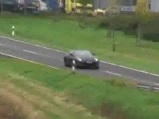 Nissan 370z (2008) spy video