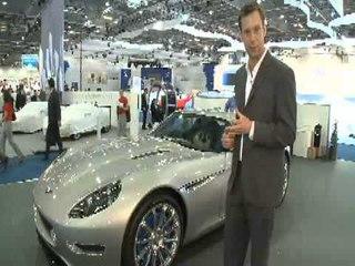 Lightning electric London Motor Show video (2008)