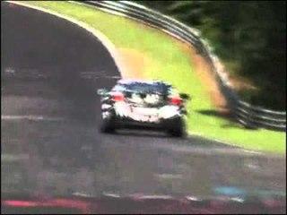 Honda NSX (2008) spy video