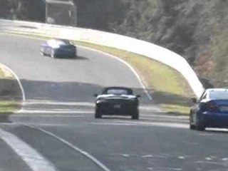 Porsche Boxster at the ring