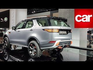 Land Rover Discovery SVX | Frankfurt Motor Show 2017