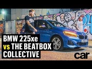 BMW 225XE vs THE BEATBOX COLLECTIVE   CAR