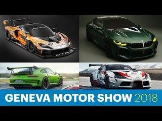 Geneva Motor Show 2018 Round Up