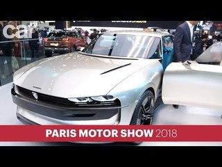 Peugeot e-Legend Concept: the 504 revisited as an autonomous electric car
