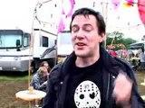 New Order's Steve Morris at Glastonbury 2005