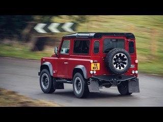 Land Rover Defender Works V8 70th Edition