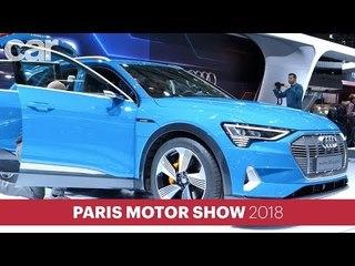 Audi E-Tron SUV   Paris Motor Show