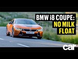 No Milk Float with the BMW i8   CAR Magazine