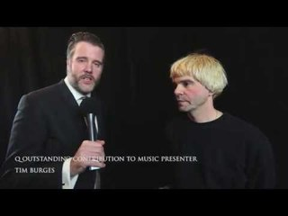 Q Awards 2015: Guest presenter The Charlatans Tim Burgess chats about New Order and more backstage