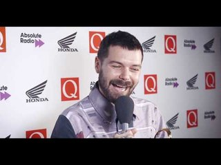 """I'm rubbish at the guitar"" Biffy Clyro's Simon Neil's talks to Q post Fender Play Award #QAwards"