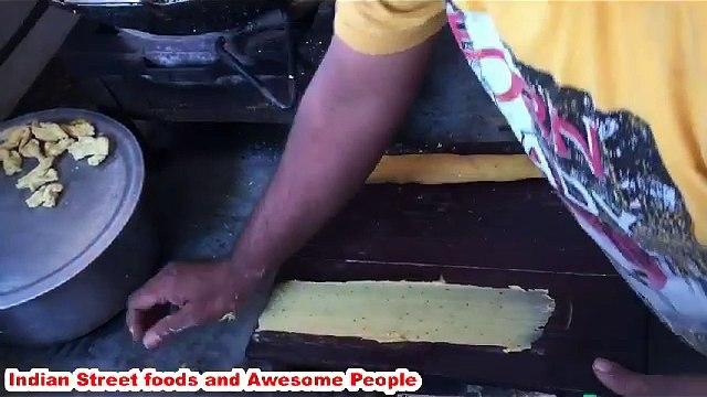 Indian street foods - Fafda Gujrati street foods of india - Gujrati street foods india