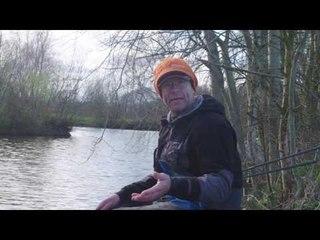 Nick Speed on margin Pole fishing