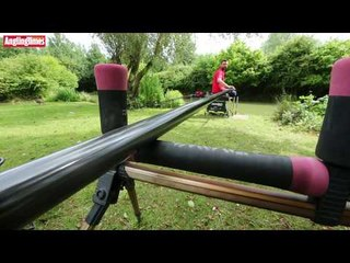 Pole fishing with the Centrum Carp 12.5m special offer