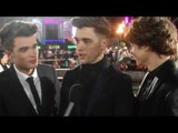 Union J want Jeniffer Lawrence to go skin head - Hunger Games Catching Fire Catching Fire Premiere