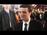 Josh Hutcherson Catching Fire Hunger Games Premiere