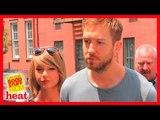 Calvin Harris MASSIVELY defends Taylor Swift in Avril Lavigne fan row