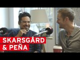 Alexander Skarsgård and Michael Peña talk War on Everyone with James!