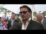 Johnny Depp talks Alice In Wonderland to heat!