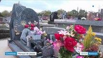 Un manque de places dans les cimetières