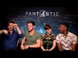 Fantastic Four - Miles Teller, Jamie Bell, Michael B Jordan and Kate Mara interview