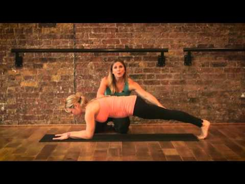 Pregnancy exercises - The Plank