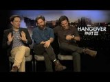 Bradley Cooper, Zach Galifianakis And Ed Helms Interview -- The Hangover Part III | Empire Magazine