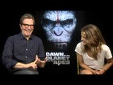 Dawn of the Planet of the Apes - Gary Oldman and Keri Russell interview | Empire Magazine