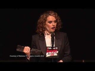 Best Actress - Daisy Ridley, , 2018 Rakuten TV Empire Awards