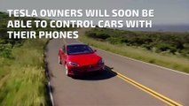 Tesla Owners Will Soon Be Able to Control Cars With Their Phones