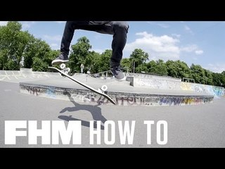 How to nail the perfect kickflip
