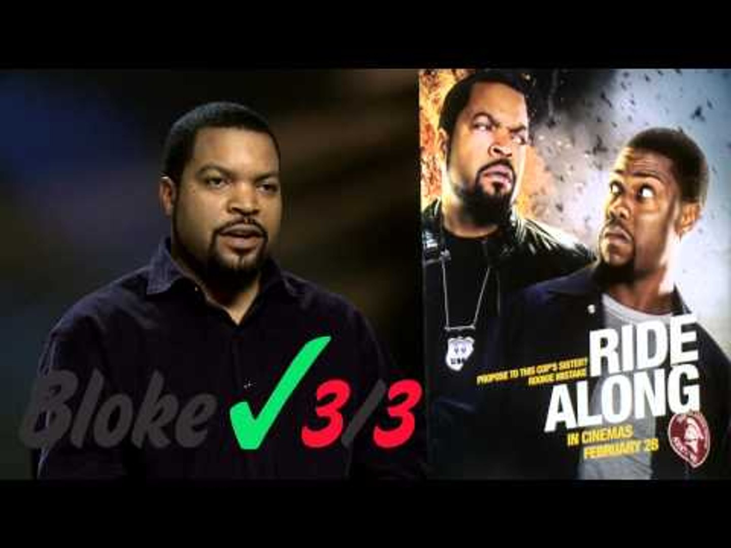 Ice Cube takes the FHM Bloke Test