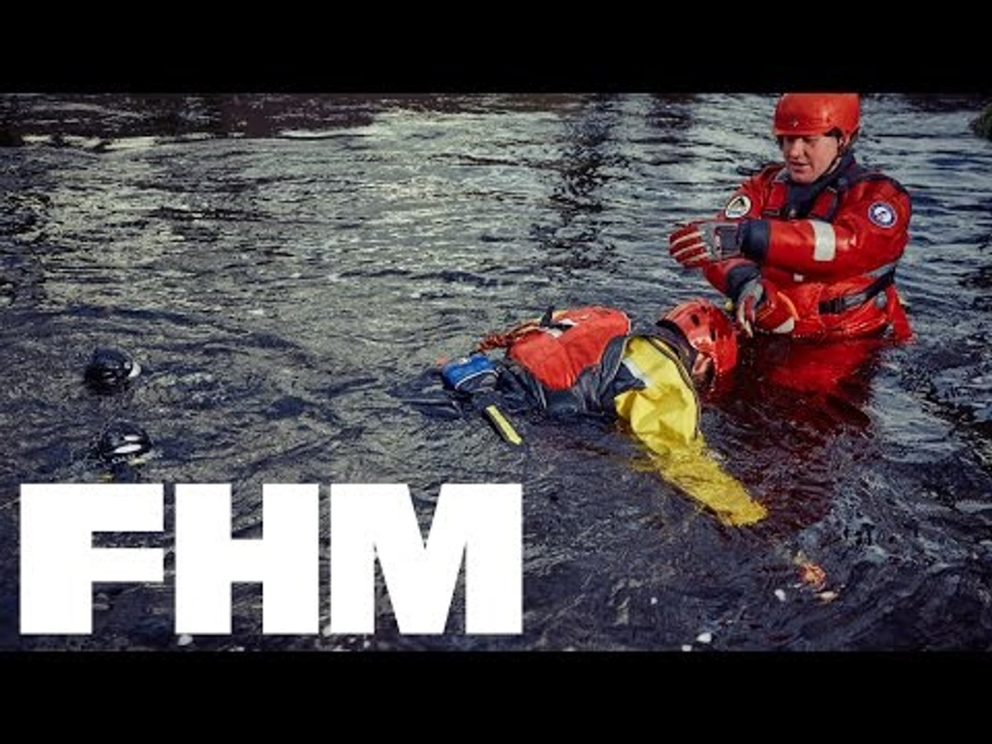 What's it like to be rescued from freezing water by UK Mountain Rescue?