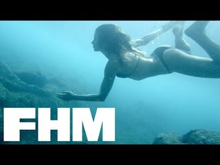 FHM Sexy Shorts Presents: Surf's Up with Anastasia Ashley