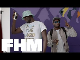 A day with Lethal Bizzle and Stormzy