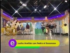 Lucho Avellan recuerda imitacion de Pedro El Escamoso