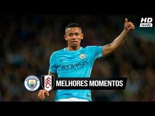 Manchester City 2 x 0 Fulham - Melhores Momentos e Gols (HD 60fps) 01/11/2018