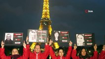 Eyfel Kulesi Öldürülen Gazeteciler İçin Karardı- Eyfel Kaşıkçı İçin Karartıldı