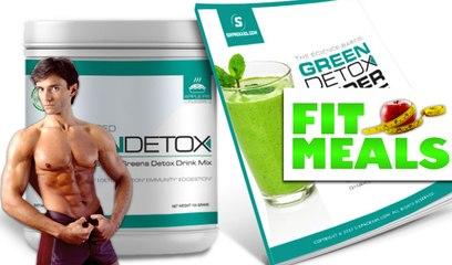 BEST GREEN DETOX POWER SHAKE | Fit Meals